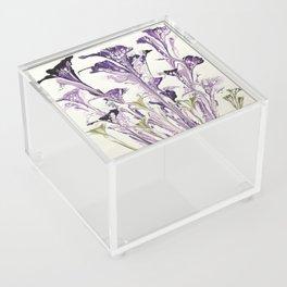 Lilac flower Acrylic Box