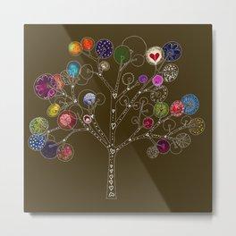 Wonder Tree Metal Print