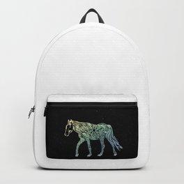 Seashore Horse by #Bizzartino Backpack