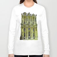 old school Long Sleeve T-shirts featuring Old School by Nicholas Bremner - Autotelic Art