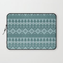 Mudcloth Style 2 in Teals Laptop Sleeve