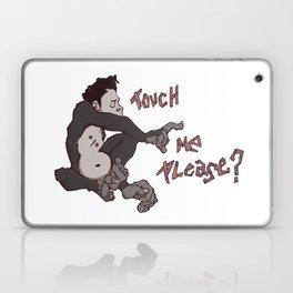 Touch Me Please Laptop & iPad Skin