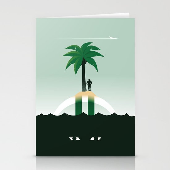 Revis Island Stationery Cards