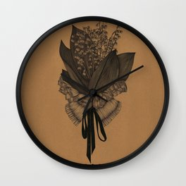 Collar Scholar Wall Clock