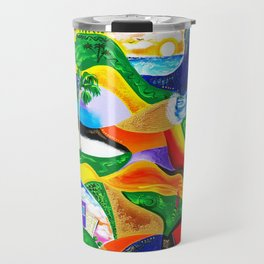 Sunrise in Puerto Rico Travel Mug