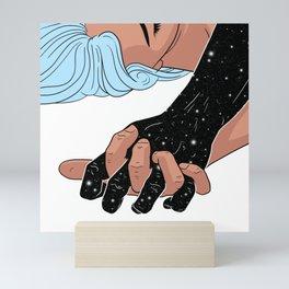 We're teleporting straight to Paradise Mini Art Print