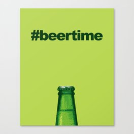 Beer Time Canvas Print