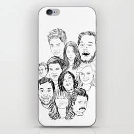 Parks and Recreation 'Rec a Sketch' iPhone Skin