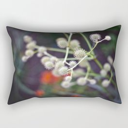 Laced Snowballs Rectangular Pillow