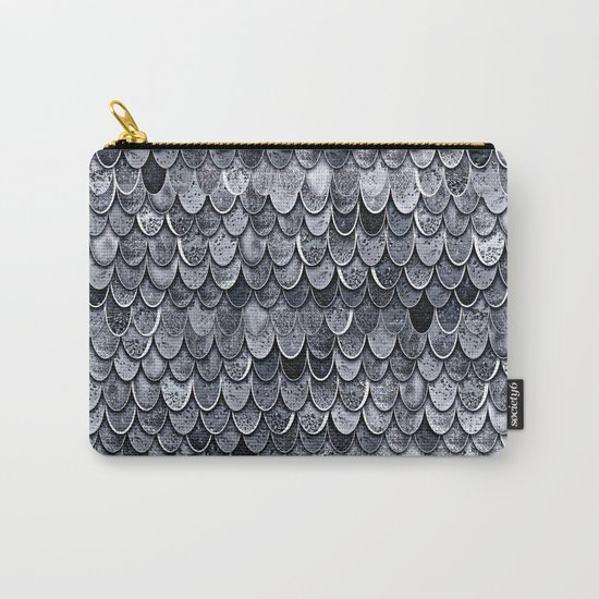 MAGIC MERMAID CLASSIC GREY by Monika Strigel Carry-All Pouch