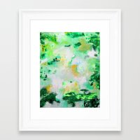 monet Framed Art Prints featuring Monet by acrylikate