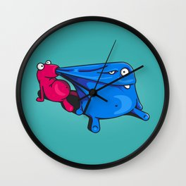 My little monsters Wall Clock