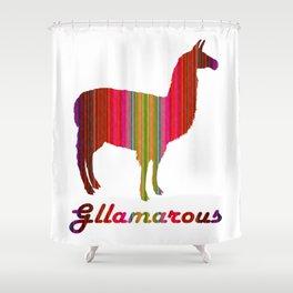 Gllamarous Shower Curtain