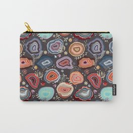Colorful agates Carry-All Pouch