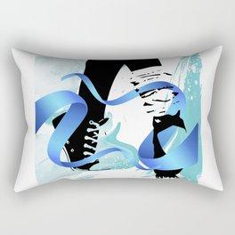 ¡A bailar! Rectangular Pillow