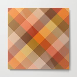Squaremetric Metal Print