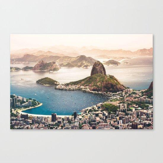 Rio de Janeiro Brazil Canvas Print