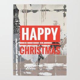 Snowfall - Happy Christmas Poster