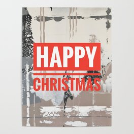 Snowfall - Happy Christmas Poster