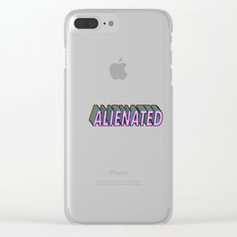 Alienated Clear iPhone Case