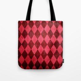 Ruby Harlequin Grung Tote Bag