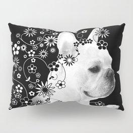 Flower Goddess Frenchie Pillow Sham