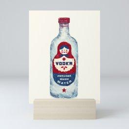 VODKA Mini Art Print