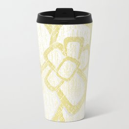 Brom yellow Travel Mug