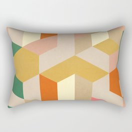 3D Geometry 2 Rectangular Pillow