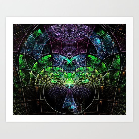 Celestial Tree Art Print