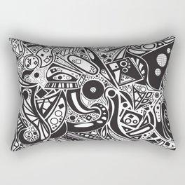 #doodles Rectangular Pillow