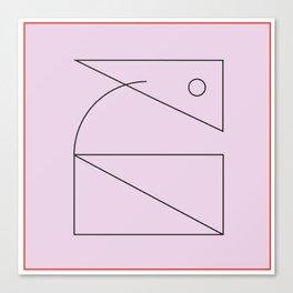 Element: Curve  Canvas Print
