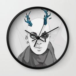 miss Kally Wall Clock
