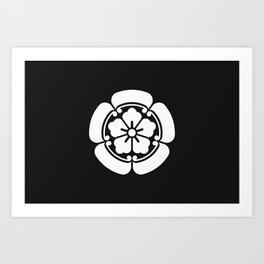 Oda Clan · White Mon Art Print