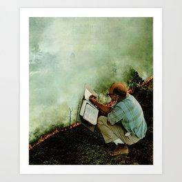 Field Work Art Print