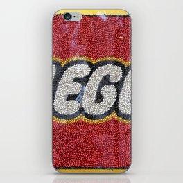 L-E-G-O iPhone Skin