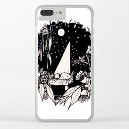 Christmas Nativity Clear iPhone Case