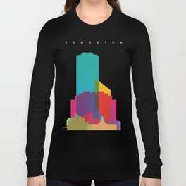 Shapes of Edmonton Long Sleeve T-shirt