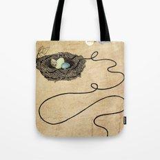 Bird's Winged Flight Tote Bag