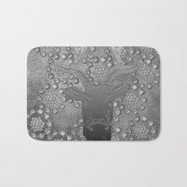 REINDEER AND DIAMONDS Bath Mat