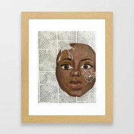 The Words That Broke Her Framed Art Print