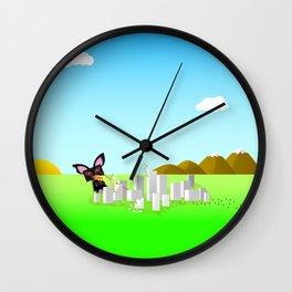 Kitty Destruction Wall Clock