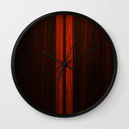 Wooden Striped Oak case Wall Clock
