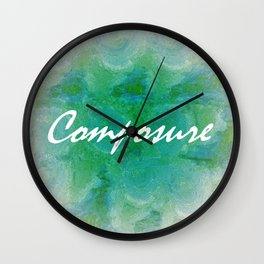 Composure Wall Clock