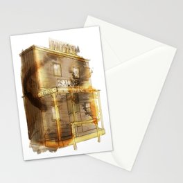 Saloon Stationery Cards