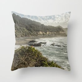 The View from Strawberry Hill, No. 3a Throw Pillow