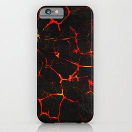 Hot Lava iPhone Case