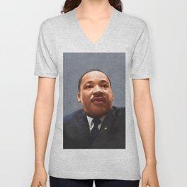Martin Luther King Unisex V-Neck