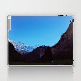 Swiss Alps From Below Laptop & iPad Skin