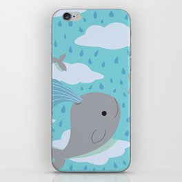 The Flying Whales iPhone Skin